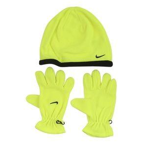 Nike® - Boy's Swoosh Logo Beanie & Gloves